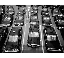 Taxicabs - Toyko Photographic Print