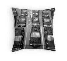 Taxicabs - Toyko Throw Pillow