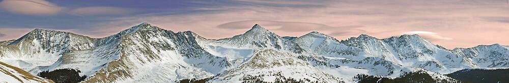 Summit County Colorado's Ten Mile Range  by ShotByAWolf