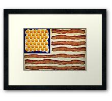 Egg'n'Bacon Flag Framed Print