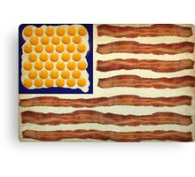 Egg'n'Bacon Flag Canvas Print