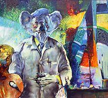 Koala Dali by Pieter  Zaadstra