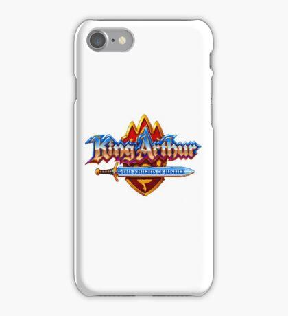 King Arthur - SNES Title Screen iPhone Case/Skin