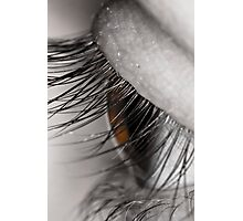 Macro of an eye Photographic Print