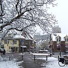 Wijk bij Duurstede in winter by Hans Bax