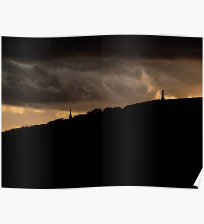 Ramsbottom Silhouettes Poster