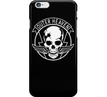 OUTER HEAVEN iPhone Case/Skin