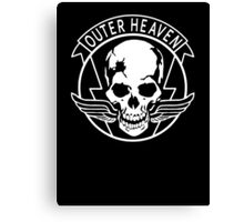 OUTER HEAVEN Canvas Print