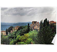 Paesaggi Toscani II Poster