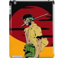 The Swordsman Of The Straw Hat Crew iPad Case/Skin