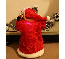 Last night Santa saved my life  Photographic Print