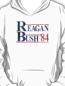 Reagan Bush '84 Election Vintage  T-Shirt
