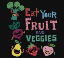 Eat Your Fruit & Veggies  Kids Clothes