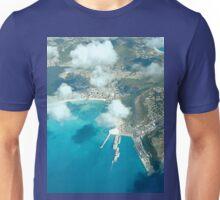 an inspiring Sint Maarten landscape Unisex T-Shirt