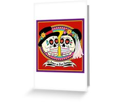Los Novios (Spanish) Greeting Card