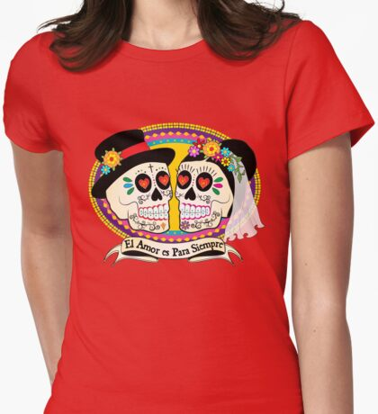 Los Novios (Spanish) Womens Fitted T-Shirt