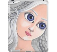 Daenerys Targaryen with Big Eyes iPad Case/Skin