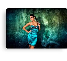 Grunge Fashion Fine Art Print Canvas Print
