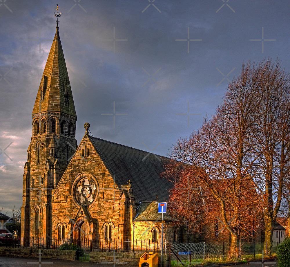 Broxburn Parish Church by Tom Gomez