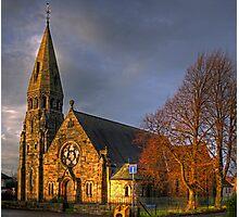 Broxburn Parish Church Photographic Print