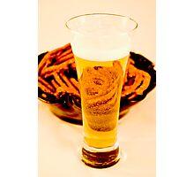 Beer & Pretzels Photographic Print