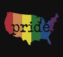 AMERICA USA GAY PRIDE MARRIAGE MAP  by SOVART69