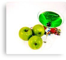 Apple Martini Canvas Print