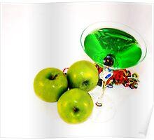 Apple Martini Poster