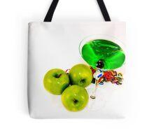 Apple Martini Tote Bag