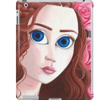 Sansa Stark with big eyes iPad Case/Skin