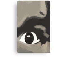 Eye Of Charlie Canvas Print