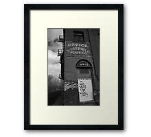Urban Decay Series--Westfield Office/Casket Co. Framed Print