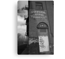 Urban Decay Series--Westfield Office/Casket Co. Metal Print