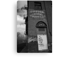 Urban Decay Series--Westfield Office/Casket Co. Canvas Print