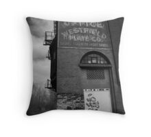 Urban Decay Series--Westfield Office/Casket Co. Throw Pillow