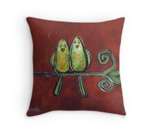Two of a Kind 2 Throw Pillow