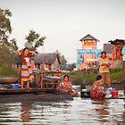 Borneo - Laundry by Flemming Bo Jensen