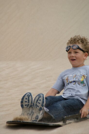 Goggles in the Sand by wilderness