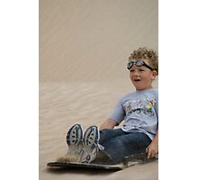 Goggles in the Sand Photographic Print