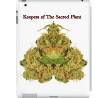 Keepers of The Sacred Plant - KOTSP Hopper iPad Case/Skin