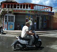 Riding Through Higuey by Dan Perez