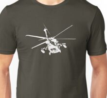 blackhawk outbound [ white on dark T ] Unisex T-Shirt