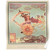 Sinbad the Sailor and other Tales of the Arabian Nights - 1914 - Edmund Dulac - 0006 - Entertains the Landsman Poster