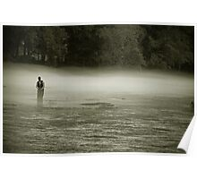 Fly Fishing the 'Hooch Poster