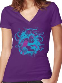 Doctor Q Women's Fitted V-Neck T-Shirt