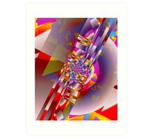 It's Party Time Art Print