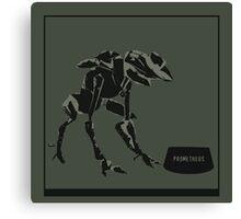 Feed the Machine - Halo Canvas Print