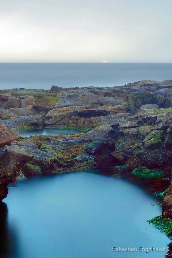 Rockpools in the rain 2 by Matthew Reilly