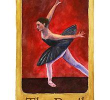 Ballet Tarot Cards: The Devil by Julia Tyler