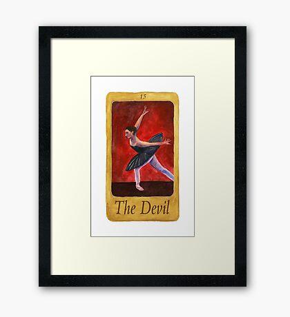 Ballet Tarot Cards: The Devil Framed Print